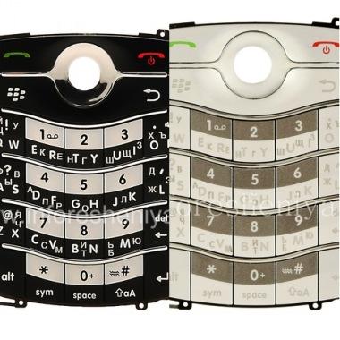 Купить Русская клавиатура для BlackBerry 8220 Pearl Flip (гравировка)
