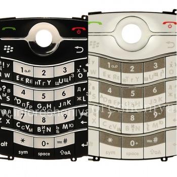 Russian Keyboard for BlackBerry 8220 Pearl Flip (engraving)