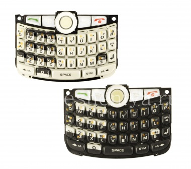 Купить Русская клавиатура в сборке для BlackBerry 8300/8310/8320 Curve (гравировка)