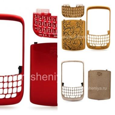 Buy Color umzimba (ezingxenyeni ezimbili) for BlackBerry 8520 Ijika