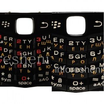 Русская клавиатура BlackBerry 9100 Pearl 3G (копия)