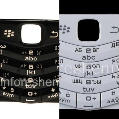 Купить Русская клавиатура BlackBerry 9105 Pearl 3G (гравировка)