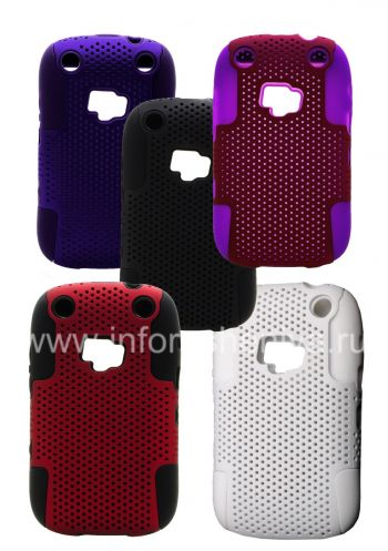 ezimangelengele ikhava perforated for BlackBerry 9320 / 9220 Curve