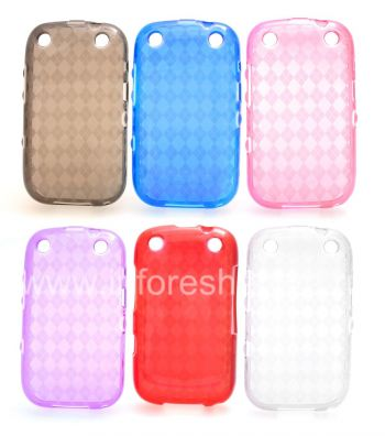 Silicone Case packed Candy Case for BlackBerry 9320/9220 Curve