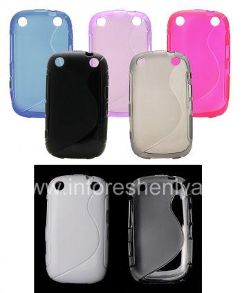 Silikon-Hülle für kompakte Streamline Blackberry Curve 9320/9220