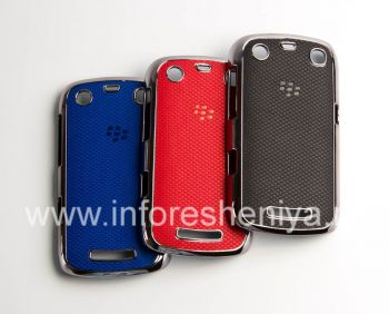 Plastic bag-cover with relief insert for BlackBerry 9360/9370 Curve
