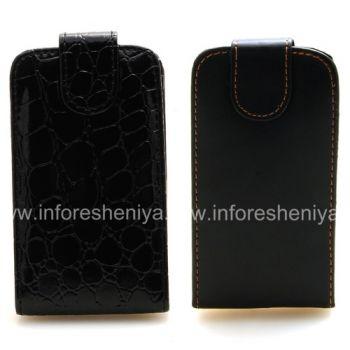 Кожаный чехол с вертикально открывающейся крышкой для BlackBerry 9800/9810 Torch