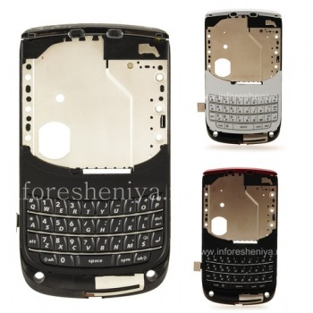 La parte media del cuerpo original con un conjunto de chips para BlackBerry 9800/9810 Torch