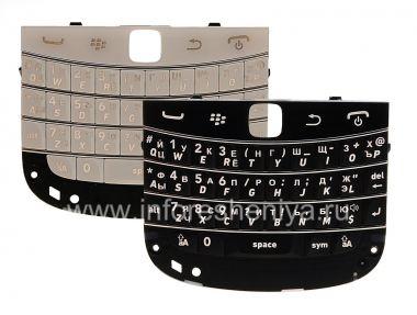 Купить Русская клавиатура BlackBerry 9900/9930 Bold Touch (гравировка)