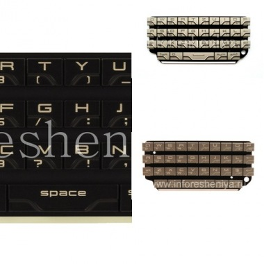 Buy Die ursprüngliche englische Tastatur für Blackberry P'9981 von Porsche Design