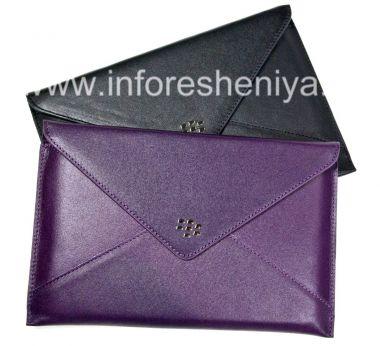 """Buy Original-Leder-Kasten """"Envelope"""" Leder-Umschlag für Blackberry Playbook"""