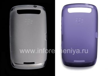 Купить Оригинальный силиконовый чехол уплотненный Soft Shell Case для BlackBerry 9380 Curve