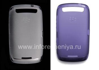 মূল সিলিকন ক্ষেত্রে BlackBerry 9380 কার্ভ জন্য নরম শেল কেস নামমুদ্রাম্কিত