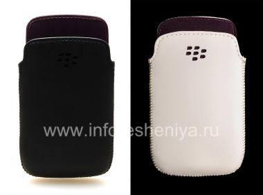 Купить Оригинальный кожаный чехол-карман Pocket для BlackBerry 9790 Bold