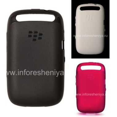 Buy Etui en silicone d'origine Soft Shell Case compacté pour BlackBerry Curve 9320/9220