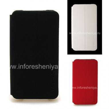 Купить Оригинальный комбинированный чехол горизонтально открывающийся Flip Shell Case для BlackBerry Z10