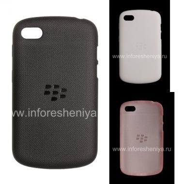 Купить Оригинальный силиконовый чехол уплотненный Soft Shell Case для BlackBerry Q10