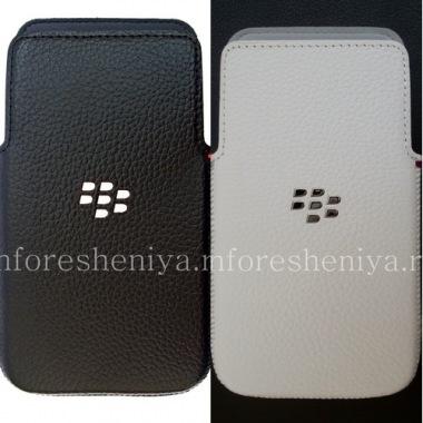 Купить Оригинальный чехол-карман Leather Pocket для BlackBerry Z30