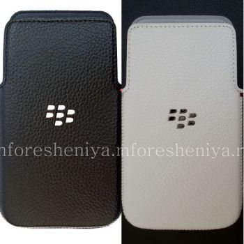 Оригинальный чехол-карман Leather Pocket для BlackBerry Z30