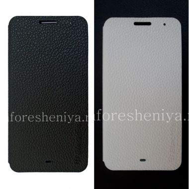 Купить Оригинальный кожаный чехол с горизонтально открывающейся крышкой Leather Flip Case для BlackBerry Z30