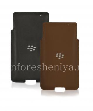 Купить Оригинальный кожаный чехол-карман Leather Pocket для BlackBerry Priv