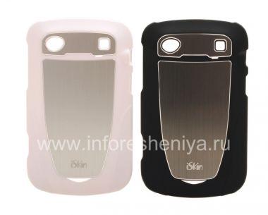 Купить Фирменный пластиковый чехол-крышка с металлической вставкой iSkin Aura для BlackBerry 9900/9930 Bold Touch