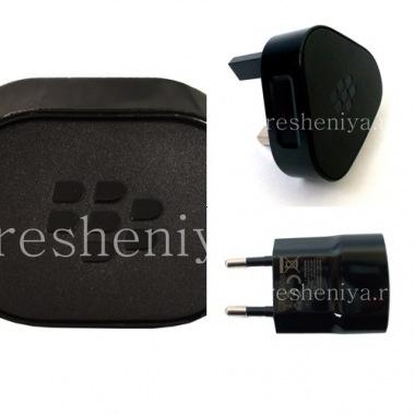 """Купить Оригинальное сетевое зарядное устройство """"Микро"""" 850mA USB Power Plug Charger для BlackBerry"""