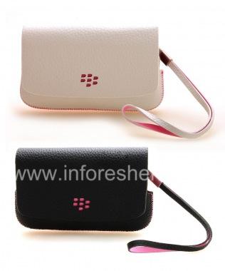 Купить Оригинальный кожаный чехол-сумка Leather Folio для BlackBerry 9800/9810 Torch