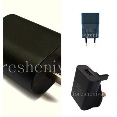 Купить Оригинальное сетевое зарядное устройство повышенной силы тока 1300mA для BlackBerry