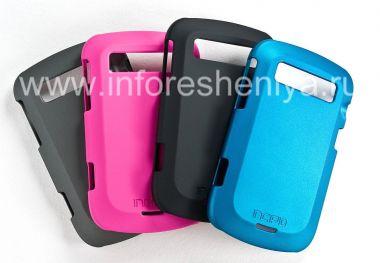 Buy 当社はプラスチックカバー、ブラックベリー9900/9930 Bold touchのためのIncipioフェザー保護をカバー