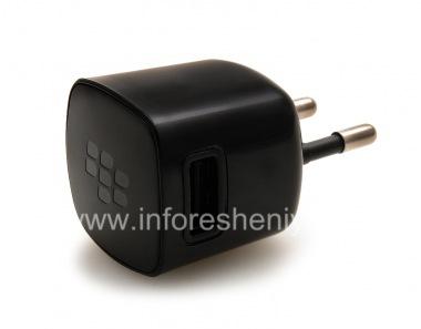 """Купить Сетевое зарядное устройство """"Микро"""" USB Power Plug Charger для BlackBerry (копия)"""