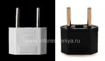 Переходник для розетки США-Евро (Россия) для BlackBerry