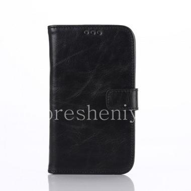 Купить Кожаный чехол горизонтально открывающийся с функцией подставки для BlackBerry Classic