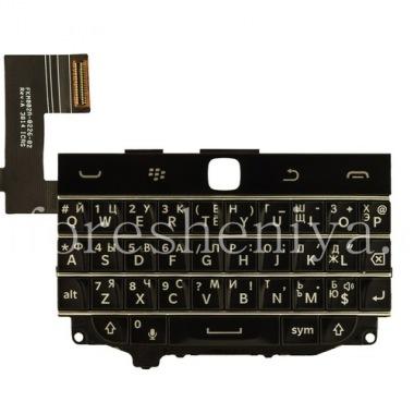 Купить Русская клавиатура в сборке с платой (без трекпада) для BlackBerry Classic (гравировка)