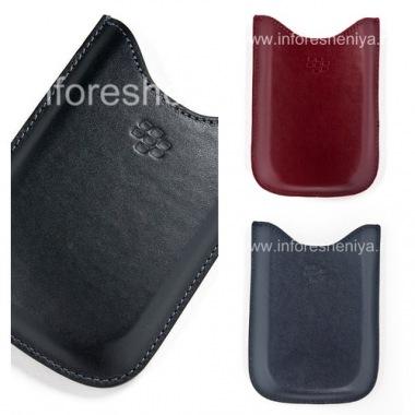 Купить Оригинальный кожаный чехол-карман Leather Pocket Pouch для BlackBerry 9000 Bold