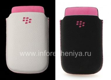 Купить Оригинальный кожаный чехол-карман Leather Pocket для BlackBerry 9800/9810 Torch