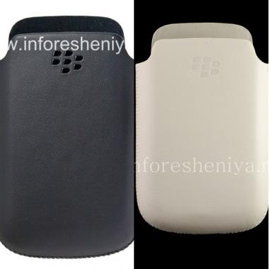 Купить Оригинальный кожаный чехол-карман матовый для BlackBerry 9700/9780 Bold