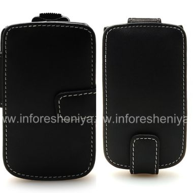 Купить Фирменный кожаный чехол ручной работы Monaco Flip/Book Type Leather Case для BlackBerry 9800/9810 Torch