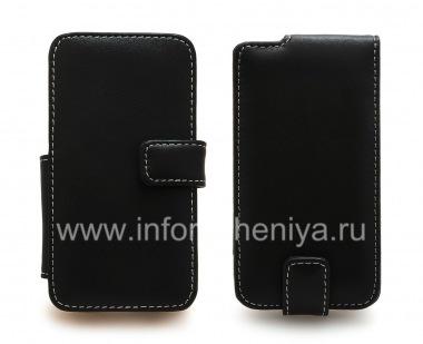 Купить Фирменный кожаный чехол ручной работы Monaco Flip/Book Type Leather Case для BlackBerry Z10
