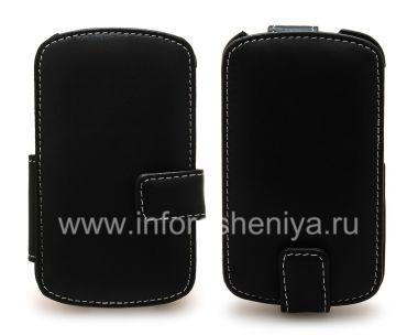Купить Фирменный кожаный чехол ручной работы Monaco Flip/Book Type Leather Case для BlackBerry Q10