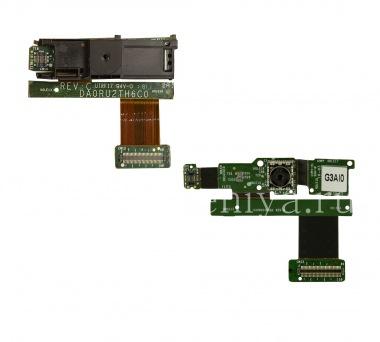 Купить Панель с фронтальной и основной камерами и боковыми кнопками для BlackBerry PlayBook