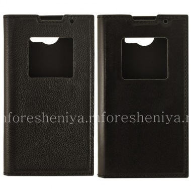Купить Фирменный кожаный чехол SIKAI с открывающейся крышкой для BlackBerry Priv