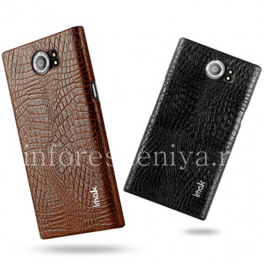 Купить Фирменный пластиковый чехол-крышка IMAK Crocodile для BlackBerry Priv