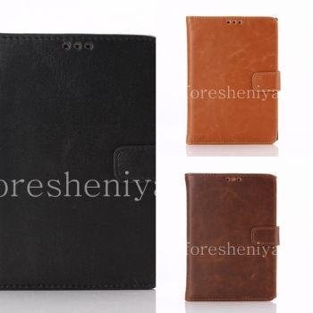 Кожаный чехол горизонтально открывающийся с функцией подставки для BlackBerry Passport