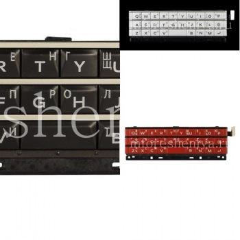 Русская клавиатура в сборке с платой и сенсорным элементом для BlackBerry Passport (гравировка)