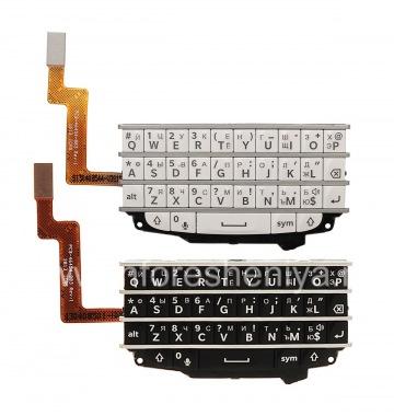 Купить Русская клавиатура в сборке с платой для BlackBerry Q10 (гравировка)