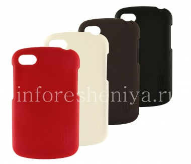 Buy Firm cover plastic, amboze Nillkin Frosted iSihlangu BlackBerry Q10