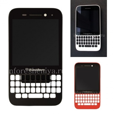 Купить Оригинальный экран LCD в сборке с тач-скрином и ободком для BlackBerry Q5