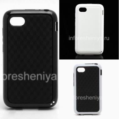 """Купить Силиконовый чехол уплотненный """"Cube"""" для BlackBerry Q5"""