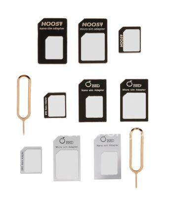适配器套件为微型和纳米SIM卡